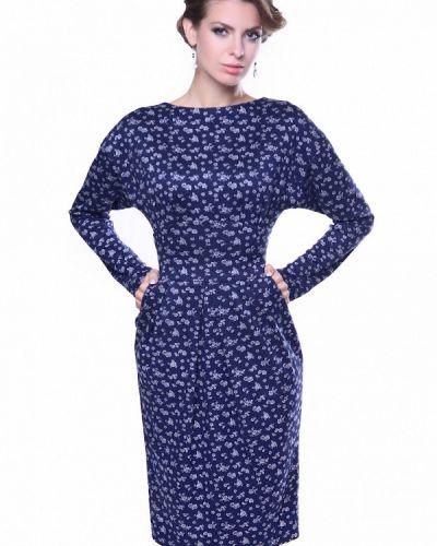 Платье вязаное осеннее Olivegrey