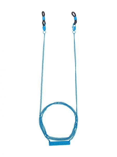 Niebieskie okulary Frame Chain