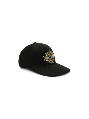 Черная бейсболка Harley Davidson