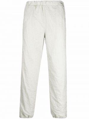 Białe spodnie bawełniane Erl