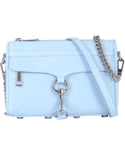 Niebieska torebka mini Rebecca Minkoff