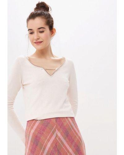 Пуловер розовый Naf Naf