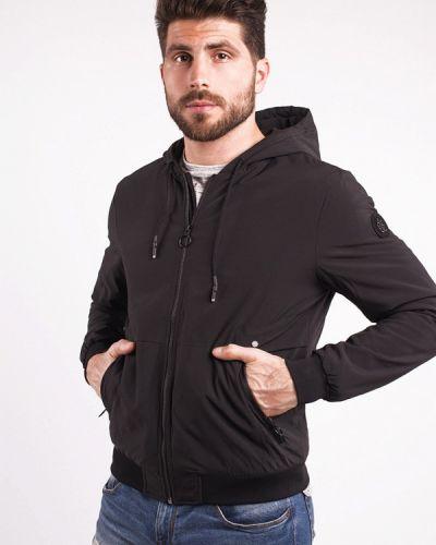 Черная утепленная куртка Avecs