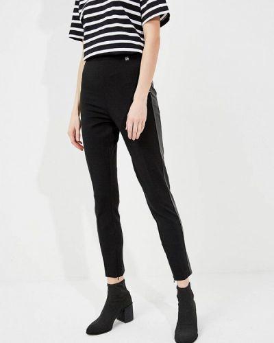 Черные зауженные брюки Twin-set Simona Barbieri