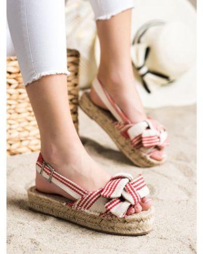 Sandały espadryle na platformie Corina