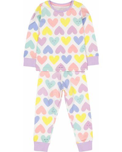 Пижама белая фиолетовый Mothercare