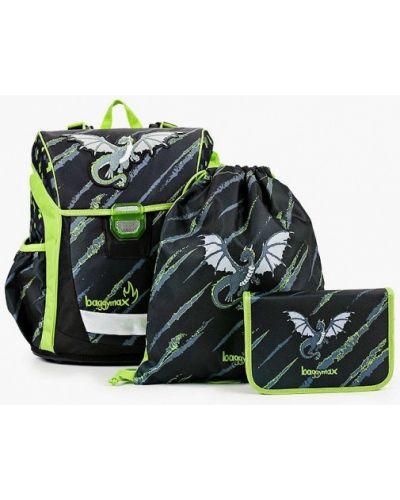 Текстильный черный рюкзак Baggymax