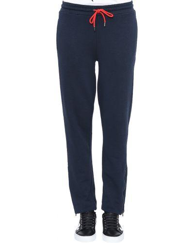Синие спортивные брюки Emporio Armani
