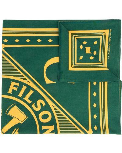 Zielona czapka bawełniana Filson