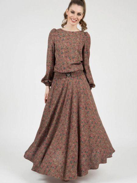 Платье - коричневое Olivegrey