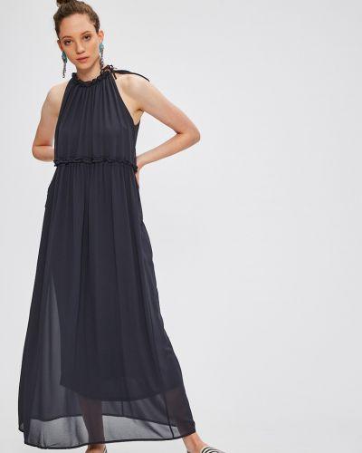 Платье макси однотонное прямое Only
