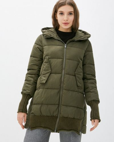 Утепленная куртка - зеленая Silvian Heach