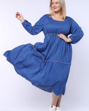 Летнее платье макси в стиле бохо грация стиля