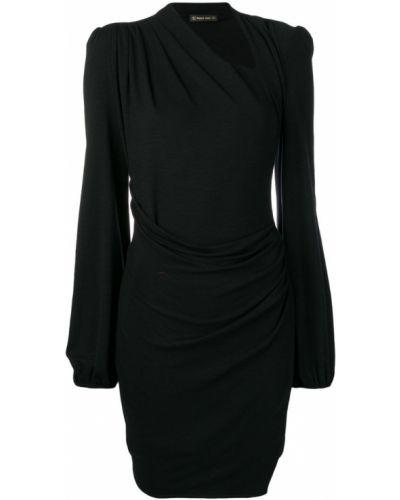 Платье макси длинное - черное Plein Sud