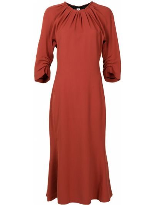 Расклешенное платье - красное Marni