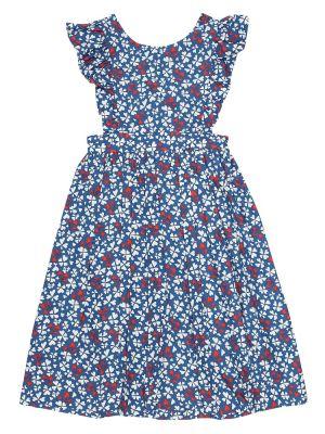 Синее платье Bonpoint