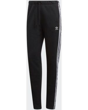 Брюки с полоской по бокам в полоску Adidas