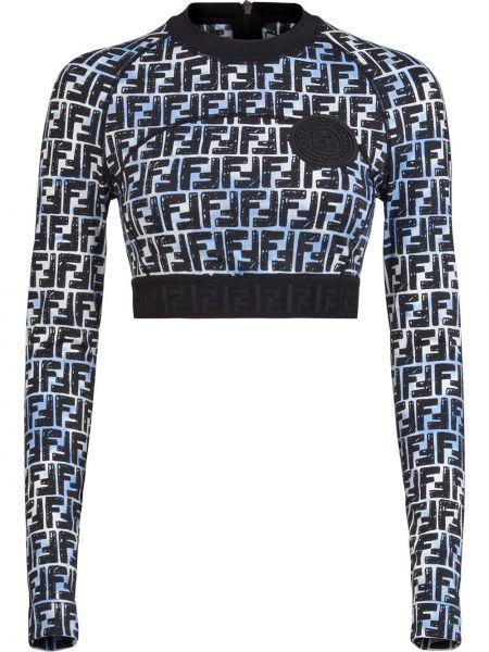 Bluza z logo Fendi