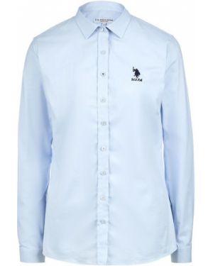 Рубашка синяя U.s. Polo Assn.
