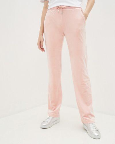 Спортивные розовые спортивные брюки Juicy Couture