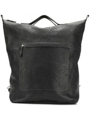 Кожаный черный рюкзак Ally Capellino