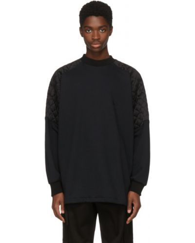 Свитшот с рукавом реглан в полоску Versace