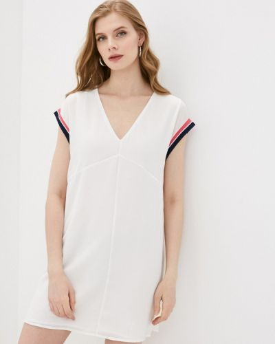 Джинсовое платье - белое Pepe Jeans