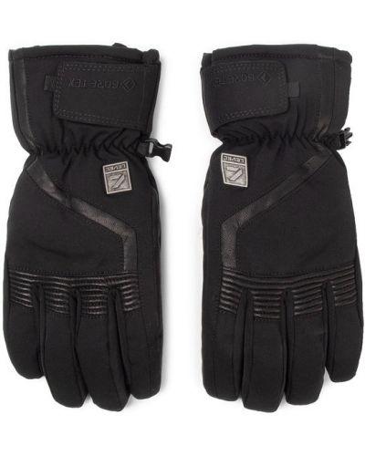 Rękawiczki narciarskie - czarne Level