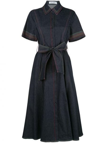 Платье мини миди джинсовое Prabal Gurung