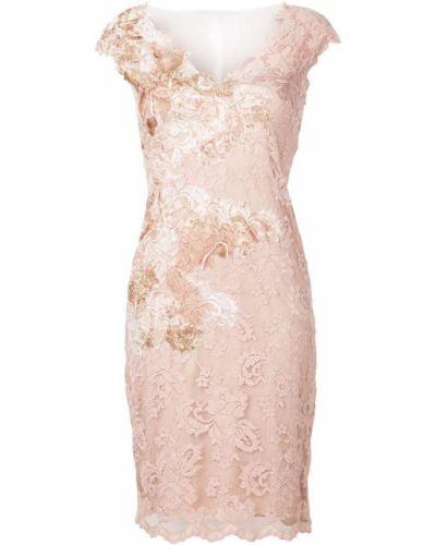 Розовое платье на молнии Olvi´s