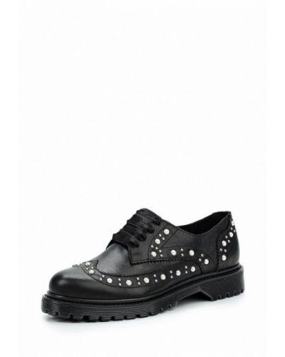 Кожаные ботинки на каблуке Bronx