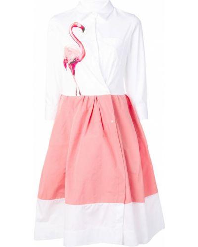 Платье миди на пуговицах платье-рубашка Sara Roka