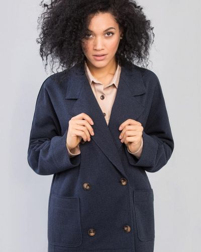 Синий пиджак Maxa