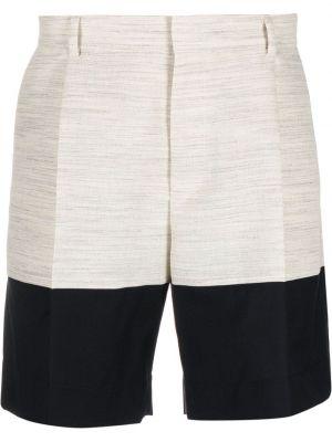 Beżowe szorty bawełniane Botter