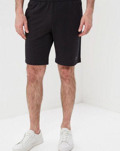 Черные спортивные шорты Ea7