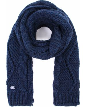 Вязаный акриловый синий классический шарф вязаный Canadiens