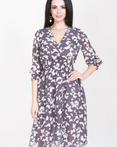 Платье из вискозы фиолетовый Argent