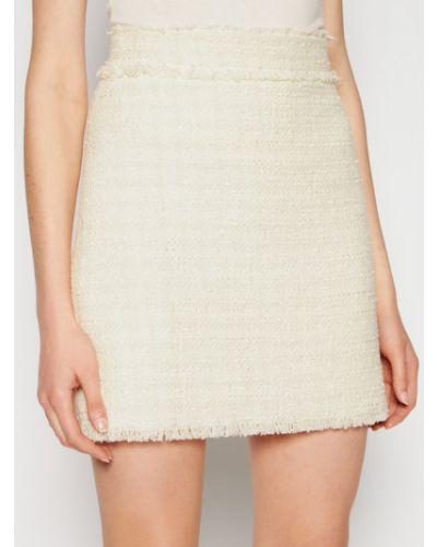 Biała spódnica mini Pinko