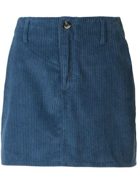 Юбка мини джинсовая с завышенной талией Nobody Denim