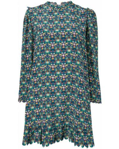 Платье с вырезом с длинными рукавами Horror Vacui