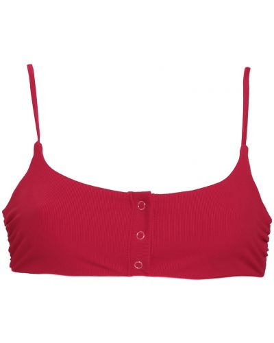 Топ сетчатый - красный Tori Praver Swimwear