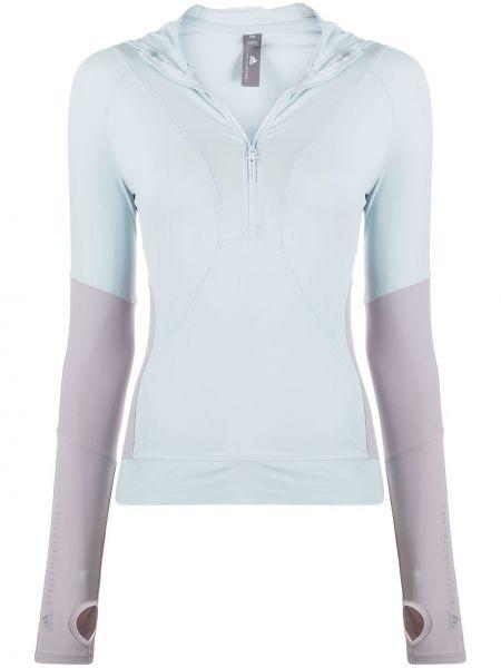 Куртка с капюшоном спортивная длинная Adidas By Stella Mccartney