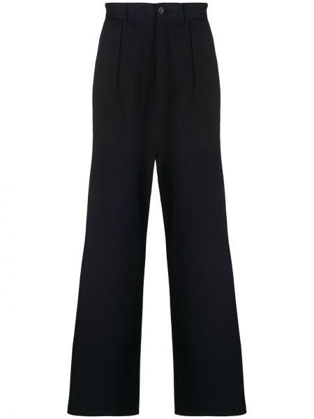 Свободные синие брюки чиносы свободного кроя с поясом Hilfiger Collection