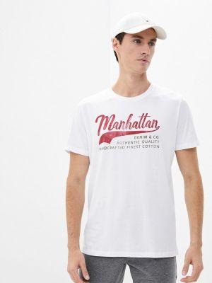 Белая зимняя футболка Produkt
