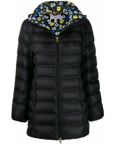 Стеганое пальто - черное Escada Sport