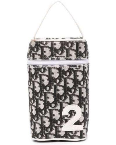 Biała torebka srebrna Christian Dior
