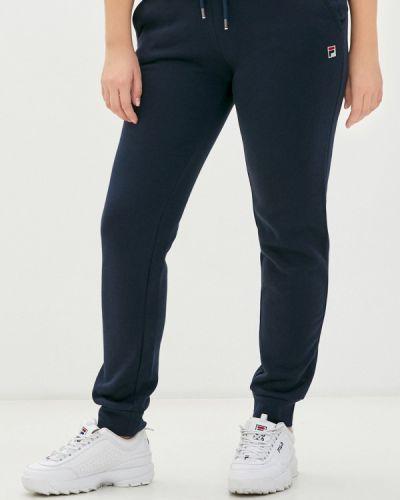 Спортивные синие спортивные брюки Fila