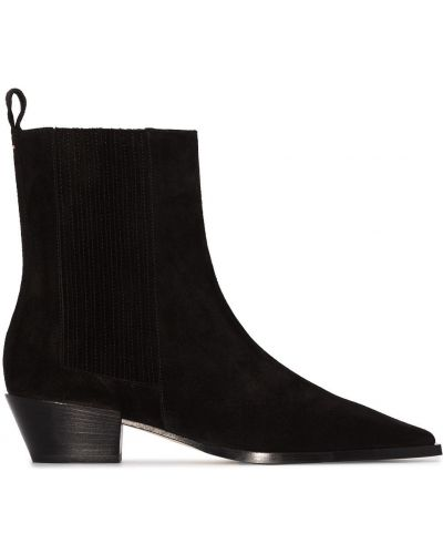 Czarne ankle boots Aeyde