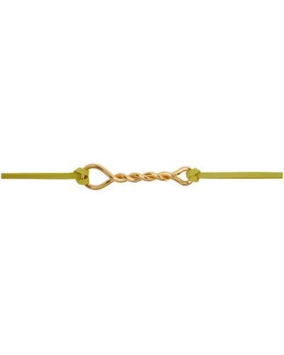 Ремень золотой с поясом Bottega Veneta