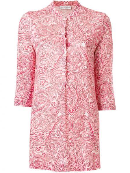 Рубашка с рисунком - красная Le Tricot Perugia